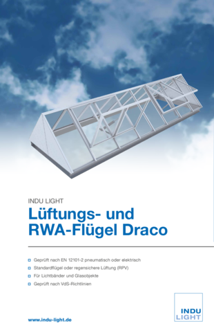 Lüftungs- und RWA-Flügel Draco