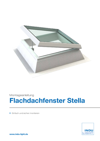 Flachdachfenster Stella