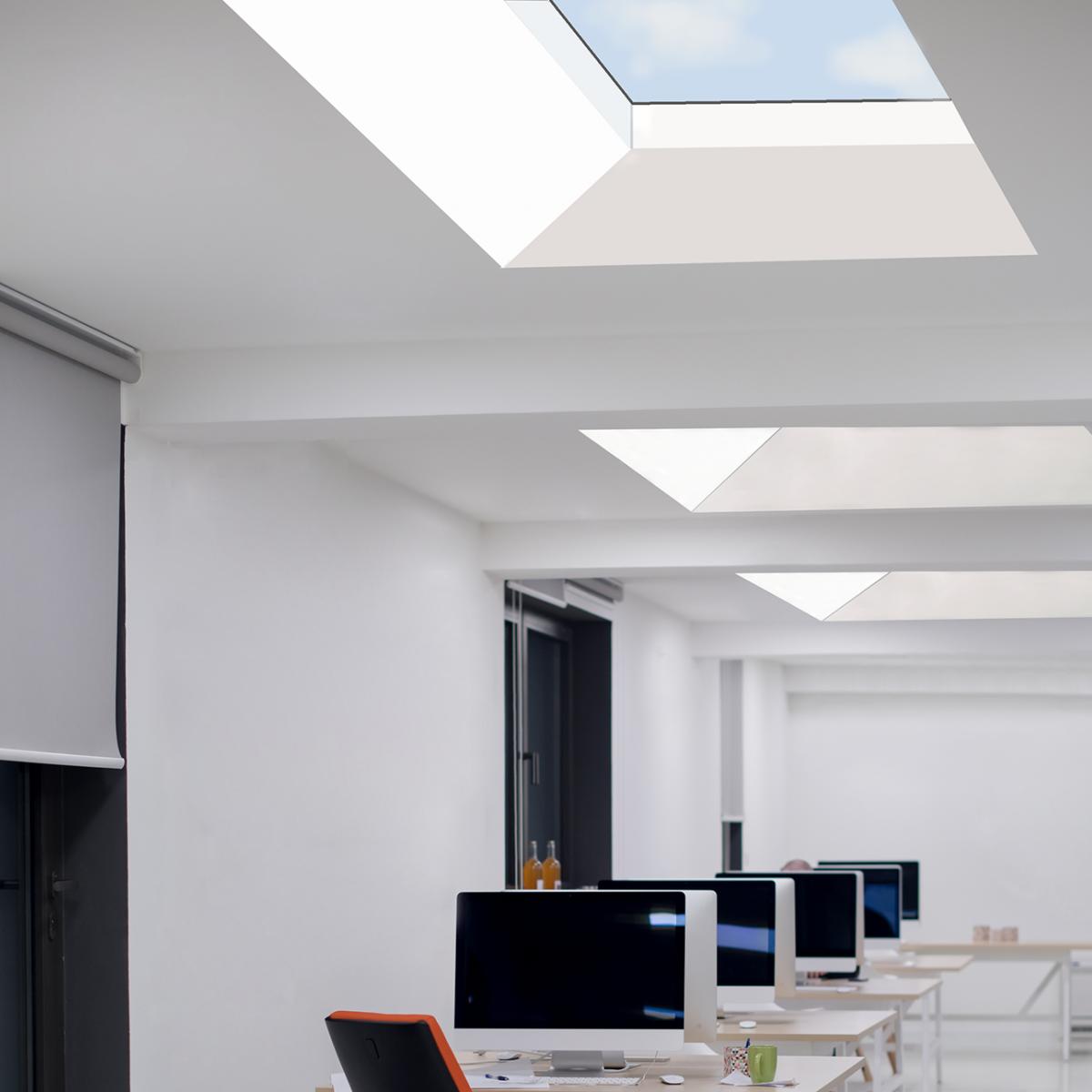 Lichtkuppel Libra | reduziert im Design, hervorragend in der Technik • Bild 1